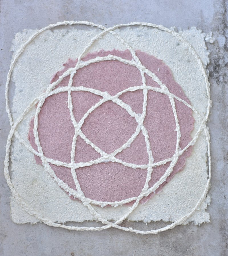 mushroom paper corti circles