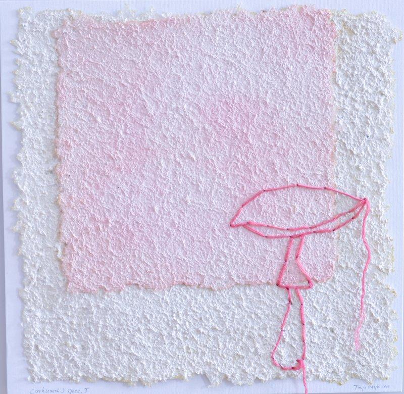 mushroom paper stitching corti