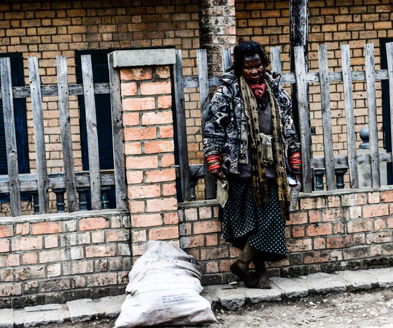 Obdachlose Madagaskar Antananarivo