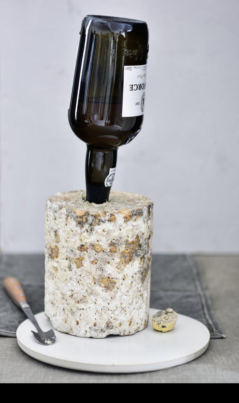 Stilton mit Portwein affiniert